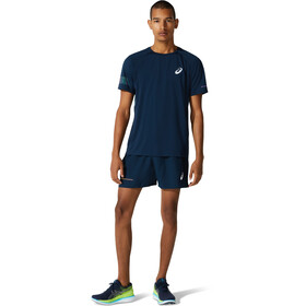 asics Visibility SS Top Men french blue/smoke blue